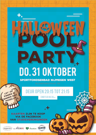 Halloween Pool Party